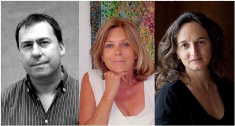 Paul Powel, Di Redmond & Julie Bertuccelli