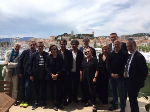 Filmmakers at European Film Forum Cannes 2017