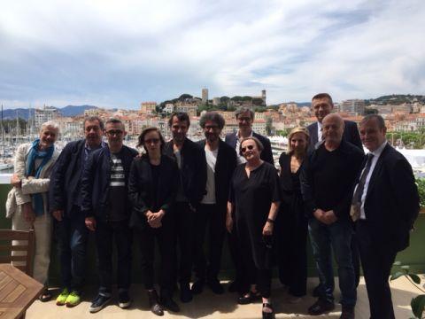 Filmmakers at European Film Forum Cannes 2017