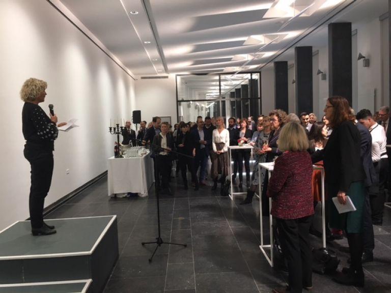 Anna Serner, Swedish Film Institute addresses guests