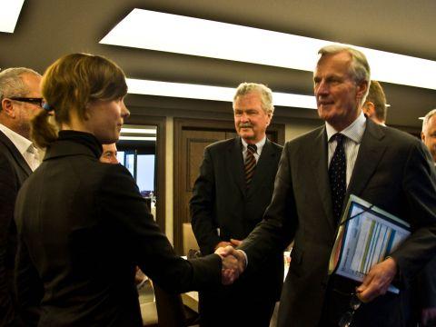 Barnier meets SAA Board of Patrons4