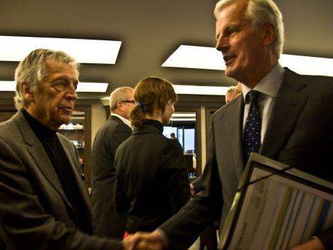 Barnier meets SAA Board of Patrons5