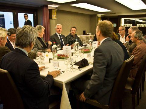 Barnier meets SAA Board of Patrons6