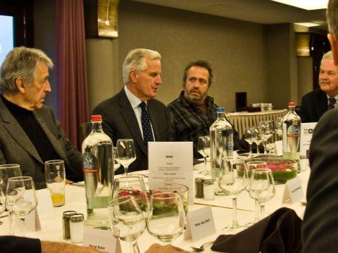 Barnier meets SAA Board of Patrons7
